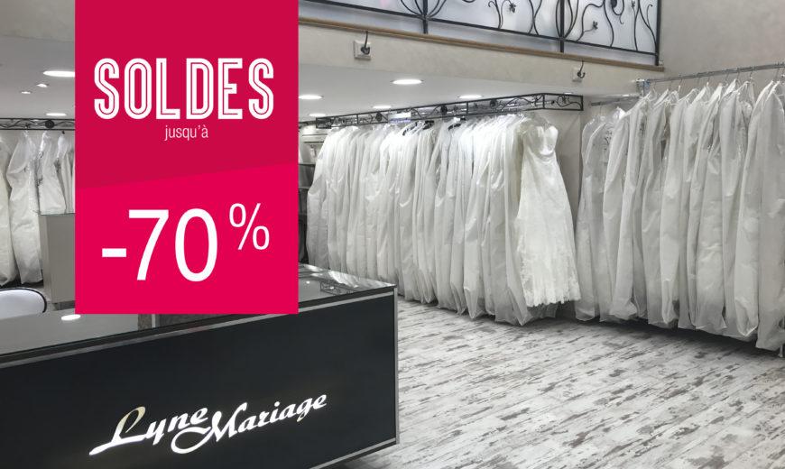 soldes lyne mariage - janvier 2018