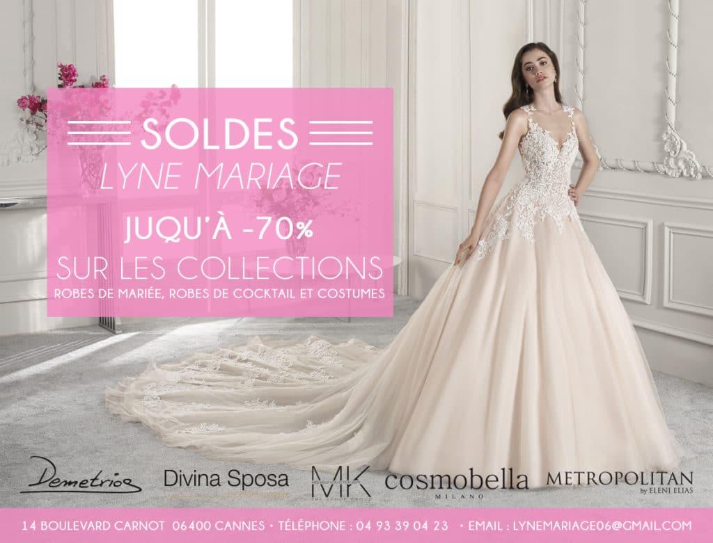 Soldes Janvier 2018 Lyne Mariage Premier Showroom De La Cote D Azur