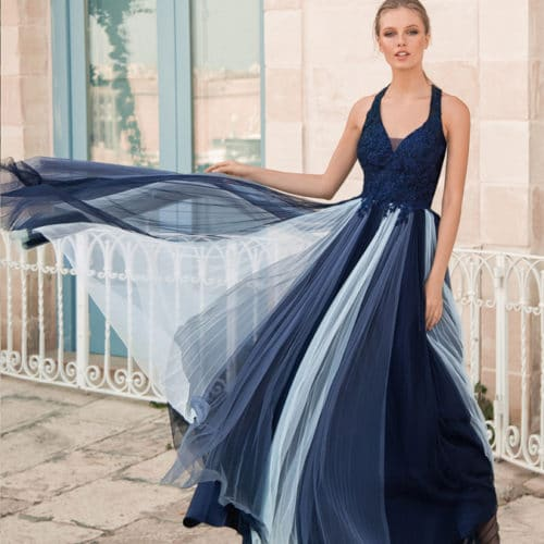 Robe de cocktail Marine