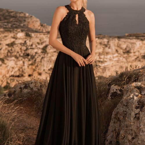 Robe de cocktail Noir