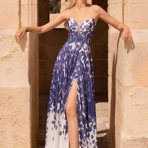 Robe de cocktail Royal